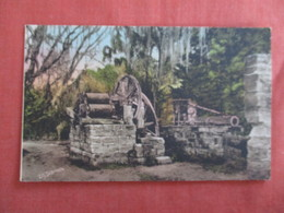 Hand Colored ---Old Spanish Sugar Mill --Barnhill Studio - Florida > Ref 3011 - Etats-Unis