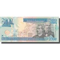 Billet, Dominican Republic, 2000 Pesos Oro, 2002, 2002, KM:174a, NEUF - Dominicaine