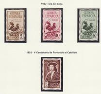 GUINEA ESPAÑOLA 1953 AÑO COMPLETO**MNH - Guinea Española
