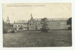 Lummen   *  Institut St.-Ferdinand à Lummen (Limb.) - Vue Prise Du Parc - Lummen