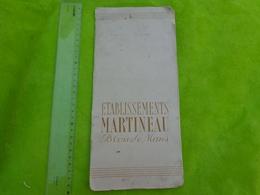 Catalogue Complet  Ets Martineau Blois Le Mans  Remis En Recompense A Jean D'armor 11/6/1951-oiseau-animaux - Werbung