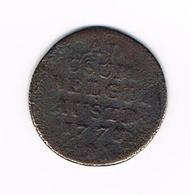 -&  1 OORD ( LIARD ) MARIA  THERESA 1778 - Belgique