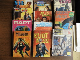 "Lot De 11 BD ""pocket"" Thème  Policiers/Espionnage - Bücher, Zeitschriften, Comics"