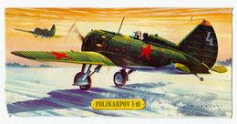 Vintage BOX ART / Revell Model Kit Polikarpov I-16 Soviet Fighter / Artwork By Brian Knight - Airplanes