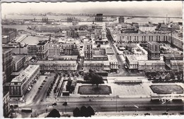 76-----LE HAVRE--vue Aérienne Des Nouveaux Immeubles-vers Le Port Et Rue De Paris--voir  2 Scans - Le Havre