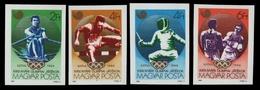 Ungarn 1988 - Mi-Nr. 3959-3962 B ** - MNH - Olympia Seoul - Hongrie