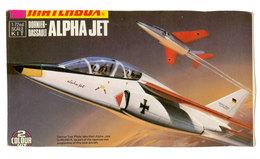 Vintage BOX ART / Matchbox Model Kit Dornier-Dassault Alpha Jet / Artwork - Airplanes