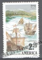 Nicaragua 1991 Yvert 1646, América UPAEP, Discovery Of America - MNH - Nicaragua