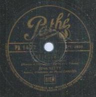 """78 Tours - RINA KETTY  - PATHE 1477  """" J'ATTENDRAI """" + """" SOMBREROS ET MANTILLES """" - 78 T - Disques Pour Gramophone"""