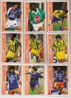 9 Cartes Panini Football 1994 Cards Official. Ziober Pickeu Djaffo  Loko Ouedec Pedros Calderaro  Mendy  Prat - Other
