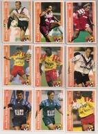 9 Cartes Panini Football 1994 Cards Official. Testa Roux Man-biyik Maufroy Boli Lagrange Daury  Zitelli Klinsmann - Other Collections