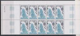 """TAAF 1988 Sailing Ship """"La Fortune""""  1v Bl Of 10  ** Mnh (39649A) - Blocs-feuillets"""