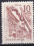 Jugoslavia, 1958 - 10d Sisak Steel Works - Nr.627 Usato° - Usati