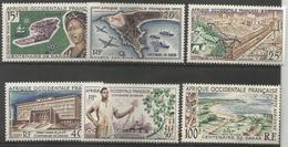 West Africa -  1958 Dakar Anniversary MNH **   Mi 289-93  Sc C22-7 - A.O.F. (1934-1959)