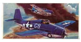 Vintage BOX ART / Revell Model Kit Grumman F4F-4 Wildcat / Artwork By Jack Leynnwood - Airplanes