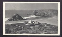 CPSM MAROC - IFNI - SIDI IFNI - Fortin Au Bord De La Mer - TB TIMBRE IFNI Verso Publicité PLASMARINE Santé 1953 - Autres