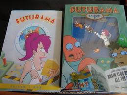 Saison 1 Et 2 De Futurama Soit 7 Dvd En Coffrets, Parfait état - Dessin Animé