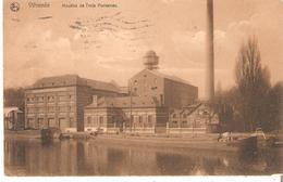 CP. VILVORDE - Moulins De Trois Fontaines Exp. De BXL. 19/9/1911 V/Vilvorde Réexp. TOURNAI . - Vilvoorde