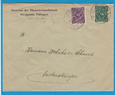 DIRECTION DER DISCONTO-GESELLSCHAFT,ZWEIGSTELLE TÜBINGEN. - Germania