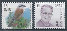 2931 + 2933 **  Timbres De Rouleaux Cote 6.00 - Belgien
