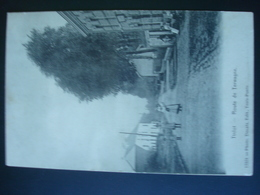 TINLOT : Route De TERWAGNE  En 1909 - Tinlot