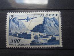 VEND TIMBRE DE POSTE AERIENNE D ' ALGERIE N° 12 , NEUF AVEC CHARNIERE !!! - Algeria (1924-1962)