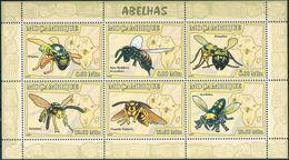 Bloc Sheet Abeille Abeilles Bees Bee Abelhas Neuf MNH ** Moçambique Mozambique 2007 - Bienen