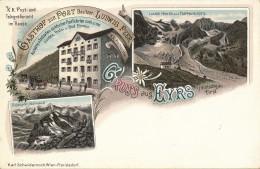 CPA ITALIE Très Rare Gruss Aus EYRS Vintschgau Tirol - Bolzano (Bozen)