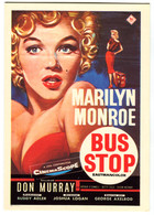 CPM  MARILYN MONROE Bus Stop - Plakate Auf Karten