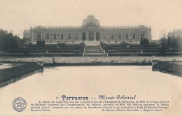 CPA BELGIQUE Carte Rare TERVUREN TERVUEREN Musée Colonial - Tervuren