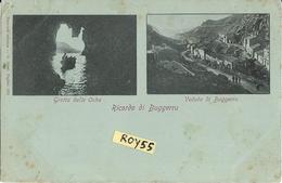 Sardegna-cagliari-buggerru Vedute Vedutine Buggerru Grotta Delle Oche Ricordo Di Buggerru Primi 900 - Altre Città