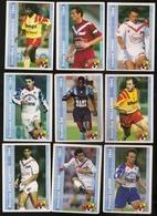 9 Cartes Panini Football 1994 Cards Official. Dos Santos Dogon Llacer Ricardo-gomez Ba Wallemmeadjoci-bocco Sénac Croci - Other Collections