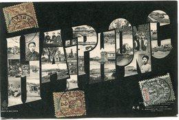 INDOCHINE CARTE POSTALE HAIPHONG AVEC OBLITERATION HAIPHONG 8 DEC 05 TONKIN - Cartes Postales