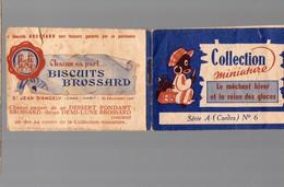 Livret Miniature BISCUITS BROSSARD N°6: Le Méchant Hiver Et La Reine Des Glaces . Tout Couleur (PPP14043) - Publicités
