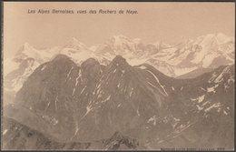 Vues Des Rochers De Naye, Les Alpes Bernoises, Vaud, C.1910 - Louis Burgy CPA - VD Vaud