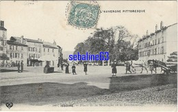 Issoire - Place De La Montagne Et La Gendarmerie - 1907 - Issoire