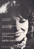 CARTOLINA TEMATICA MUSICA LA DIVINA COMMEDIA DI CARLA ROMOLI - Foto