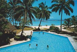 [38] RAROTONGA, Cook Islands. Rarotongan Hotel. Hotels / Hoteles. No Escrita. / Not Write / Non écrite. - Islas Cook