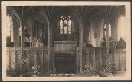 Interior, Mullion Church, Cornwall, C.1930s - Hawke RP Postcard - Other
