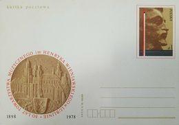 O) 1978 POLAND, HENRYK WIENIAWSKI . POLISH VIOLINIST AND COMPOSER, THE MUSIC IM HENRYKA WIENIAWSKI LUBLIN-80 YEARS OF A - 1944-.... Republic
