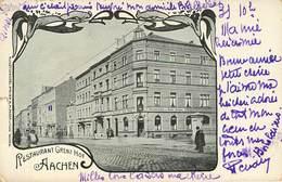Allemagne - Germany - Rhénanie Du Nord Westphalie - Aix La Chapelle - Aachen - Restaurant Grenz Hof - état - Aachen
