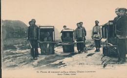 CPA CHINE Mission De Koui-Yang - Moyen De Transport Au Kouy Tcheou Chaises à Porteurs - China