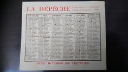 Calendrier La Dépêche 1918 - Calendriers