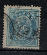 ISLANDE - Yvert N° 14 - Usados