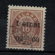 ISLANDE - Yvert N° 28 - Gebraucht