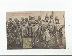 CAMBODGE 1658 TER PHNOM PENH DANSEUSES DU ROI SE PREPARANT A LA DANSE - Cambodge