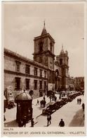 MALTA - VALLETTA - EXTERIOR OF ST. JOHN'S Co CATHEDRAL - 1932 - Vedi Retro - Formato Piccolo - Malta