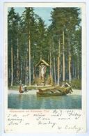 1902 Austria, Tirol Waldandacht Am Achensee Pc Used Jenbach Pmark To London - Achenseeorte