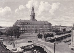 COPENHAGEN. CHRISTIANBORG PALACE. RUDOLFF OLSEN. CIRCA 1940's- BLEUP - Denemarken