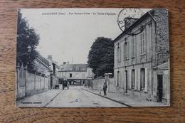 LIANCOURT (60) - RUE ETIENNE DOLET - LA CAISSE D'EPARGNE - BANQUE - Liancourt